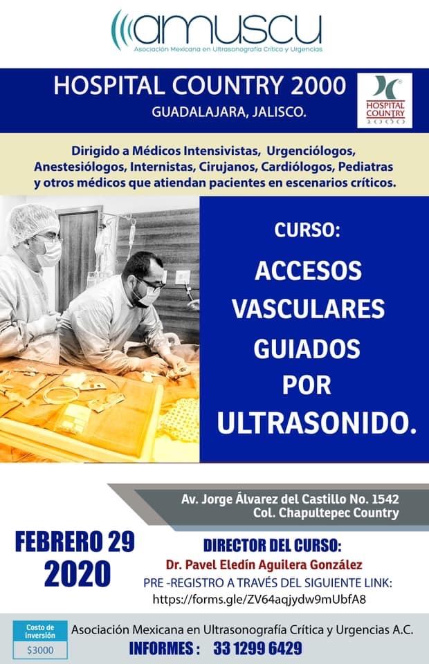 Accesos Vasculares por Ultrasonido